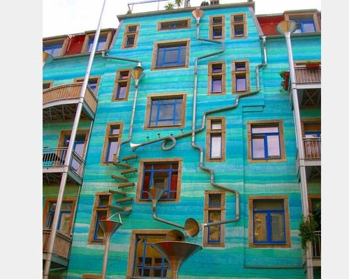 Wall That Sings When It Rains (Currently one in Germany)