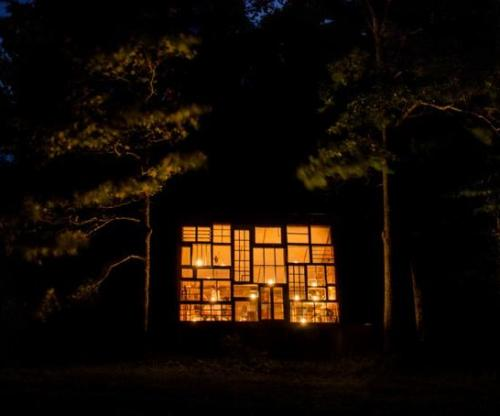 Glass House Night