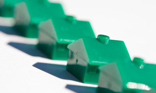 What subprime crisis?  Affordable houses are everywhere.