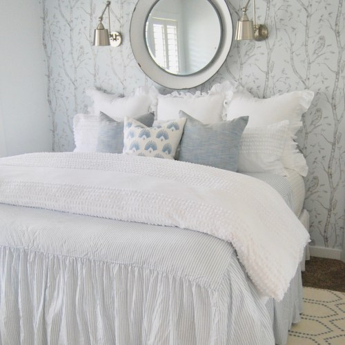 Master Bedroom & Removable Wallpaper