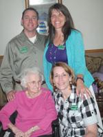 Brady Russell, Brenda Whitney and Shirley Daniels