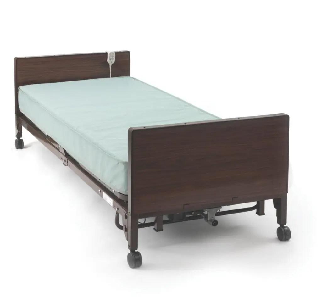 Medline Medlite Full Electric Hospital Bed Set Homecare Hospital Beds