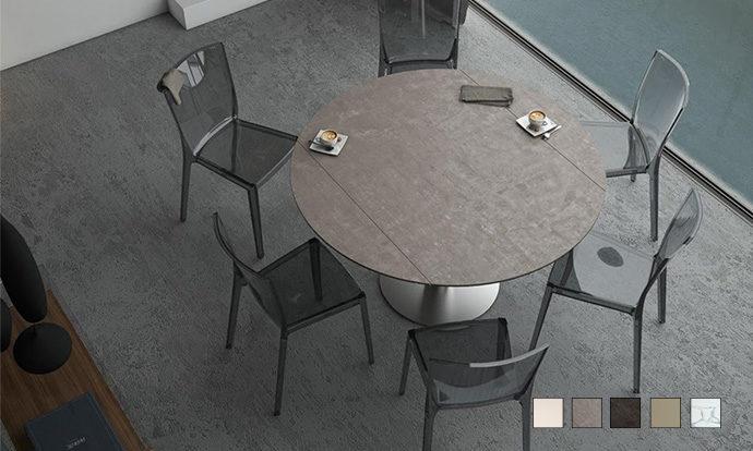 table de repas extensible luna akante