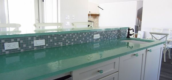 Recycled Glass Countertops (1)