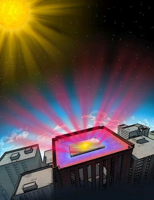 photonic radiative cooler