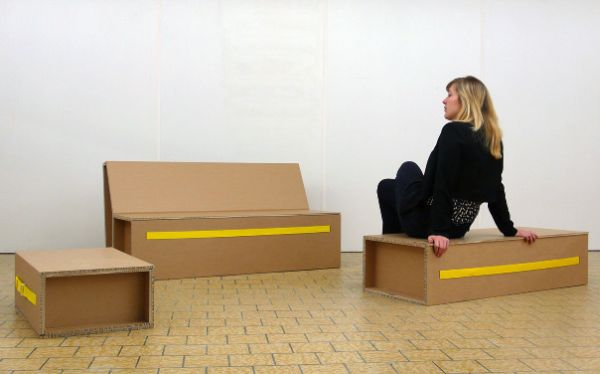 Fully-recyclable Folding Furniture   (2)