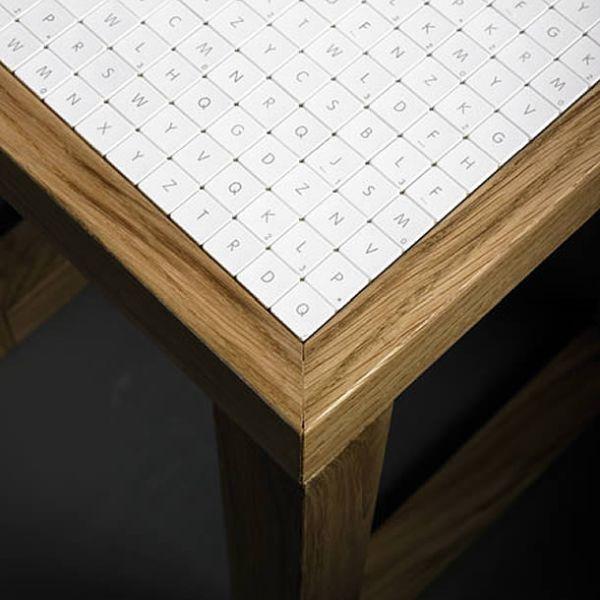 380 tiles Apple keyboard furniture