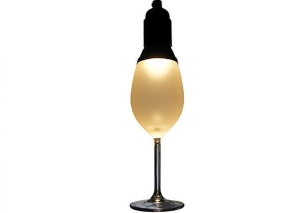 Wine Glass lamp by OOOMS