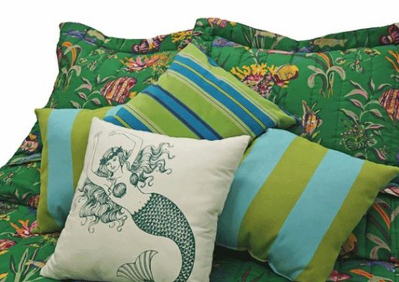 Tropical Bed Fashion