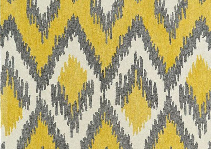 Kaleen Global Inspirations Yellow