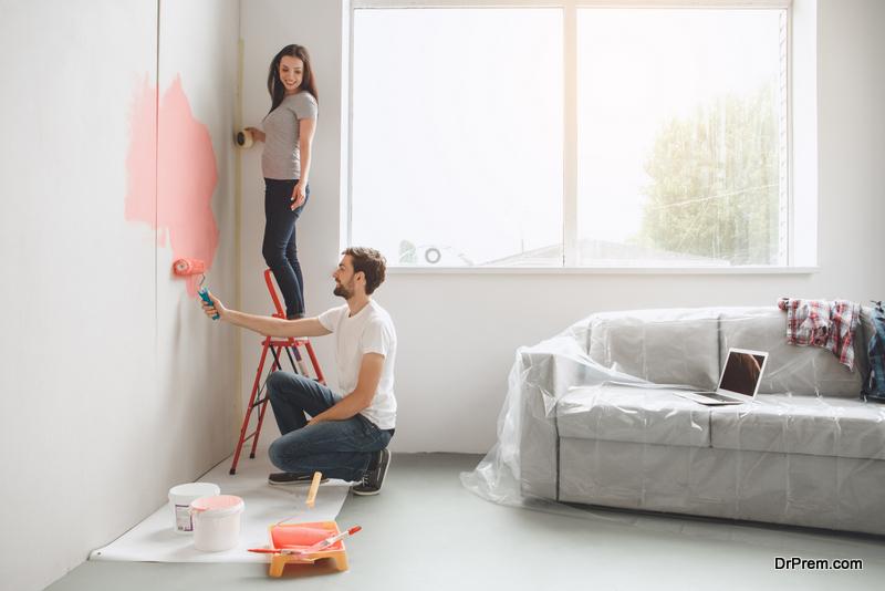 Making walls look attractive
