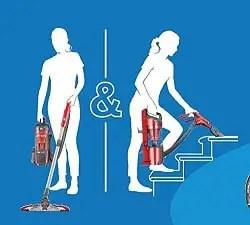 dirt devil lift and go vacuum cleaner