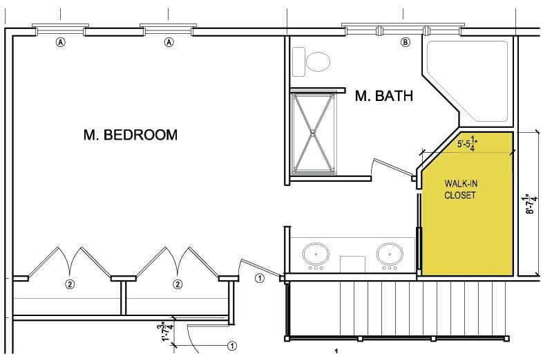 Master Bedroom With Ensuite And Walk In Closet Floor Plans Novocom Top