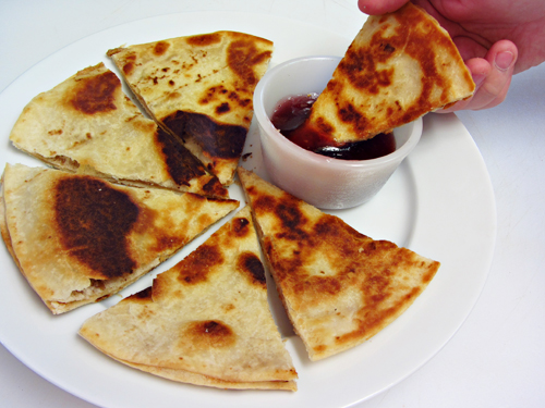 Peanut Butter Quesadillas