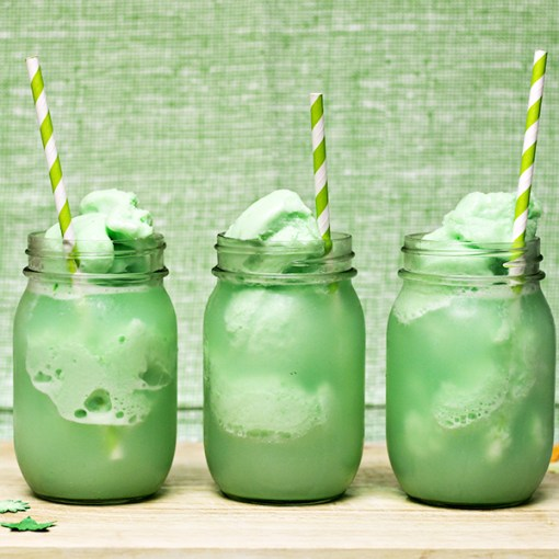 Gluten-Free St Patrick's Day Floats