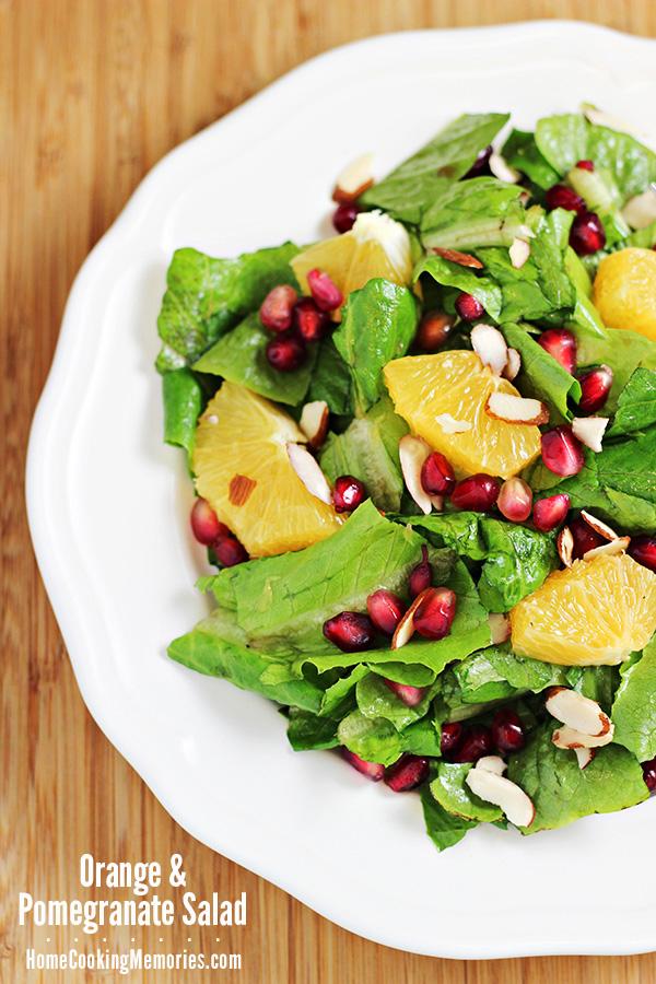 Orange and Pomegranate Salad