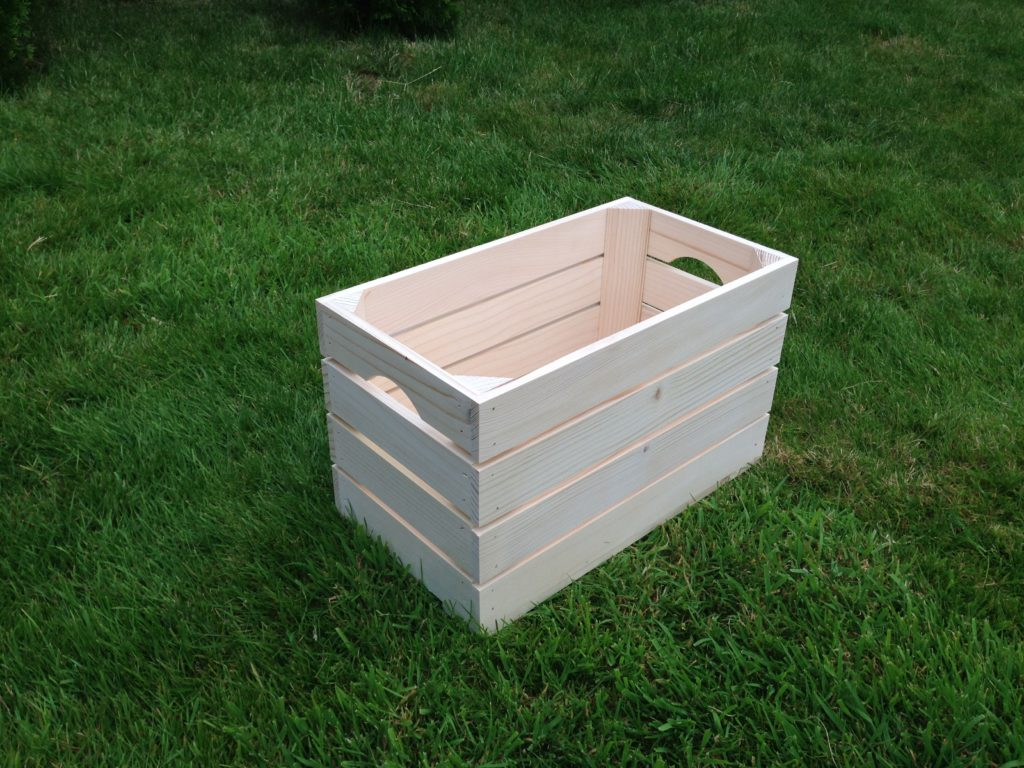 Large New Wooden Storage Box Diy Crates Toy Boxes Set: Natural Strong Untreated Plain Tray Wooden Crate Storage
