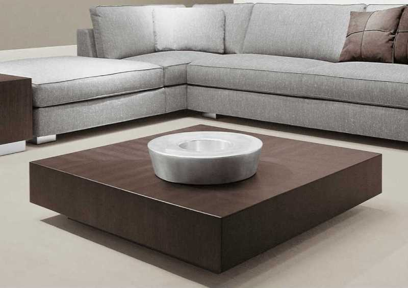 Best Living Room Coffee Tables Designed To Impress Your Guest - Super low coffee table