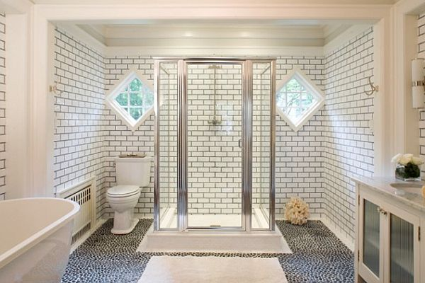 white-bathroom-with-grey-tile-grout