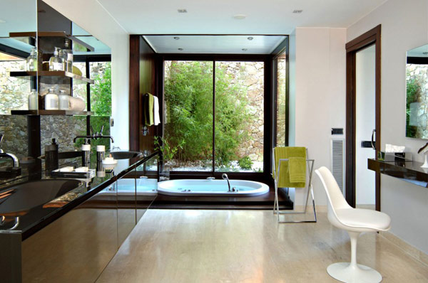 modern-design-bathroom-interior-ideas-decorations-bathtube-house-decor-contemporary-residential-architecture-cabinets-faucet-hand-towel-mirror-homes