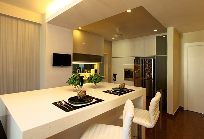 Home Design Ideas Malaysia: Harmonious Contrast Of Minimalist And Natural: Prima