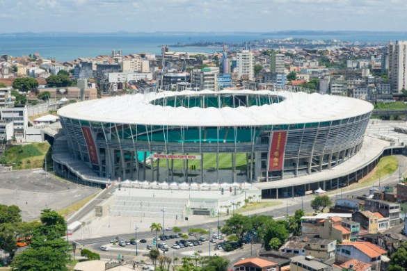 12 Amazing Stadiums of FIFA World Cup 2014 in Brasil