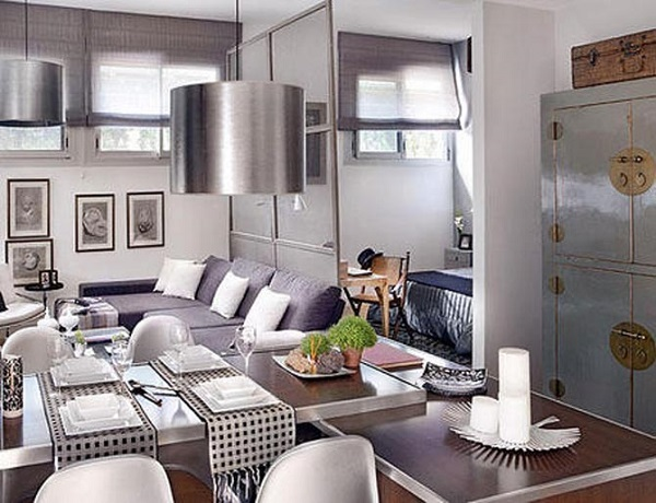 luxury-dining-room-small-apartment-ideas