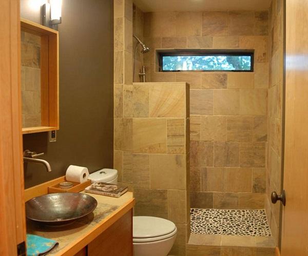 tropical small bathroom decor