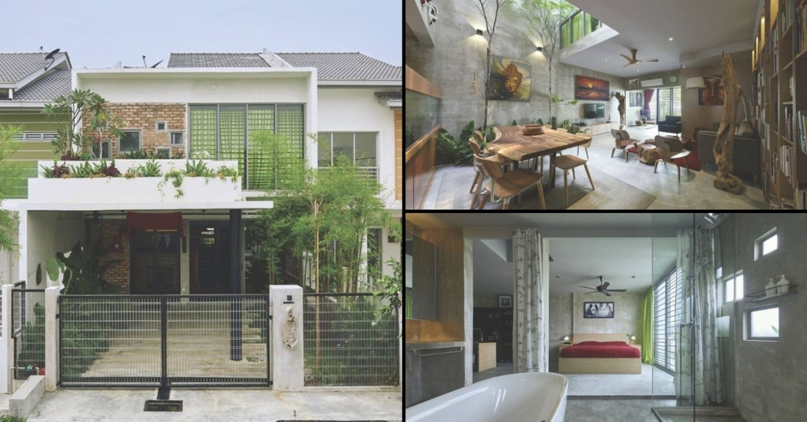 Basic Selangor Double Storey Terrace House Is Transformed Into A