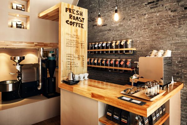 Coffee Cafe Counter