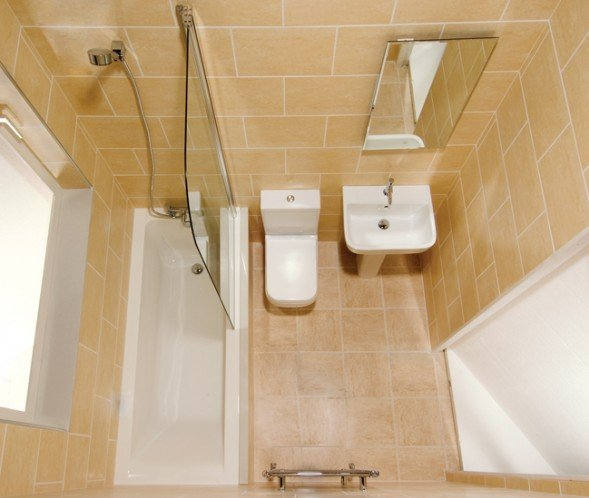 Three Bathroom Design Ideas for Small Spaces - HomeDecoMastery on Small Space Small Bathroom Ideas With Tub And Shower id=15767