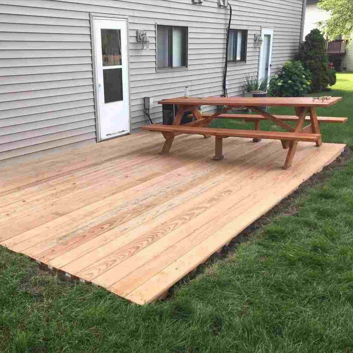Simple Floating Deck - Home Decorated on Floating Patio Ideas id=57732