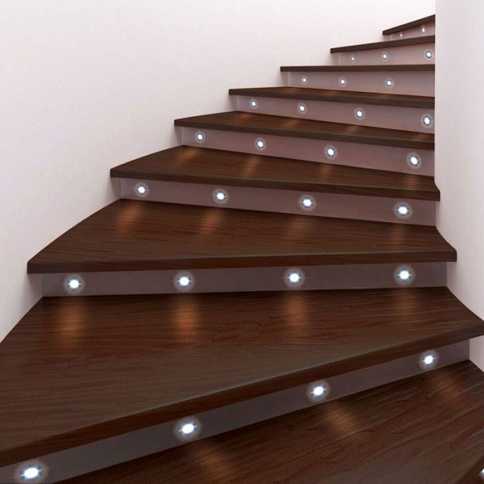9 stairway lighting ideas for a better