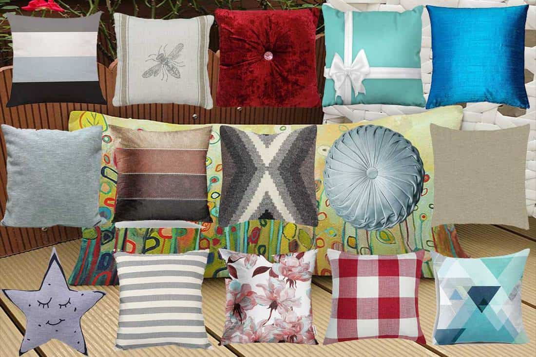 27 types of throw pillows you need to