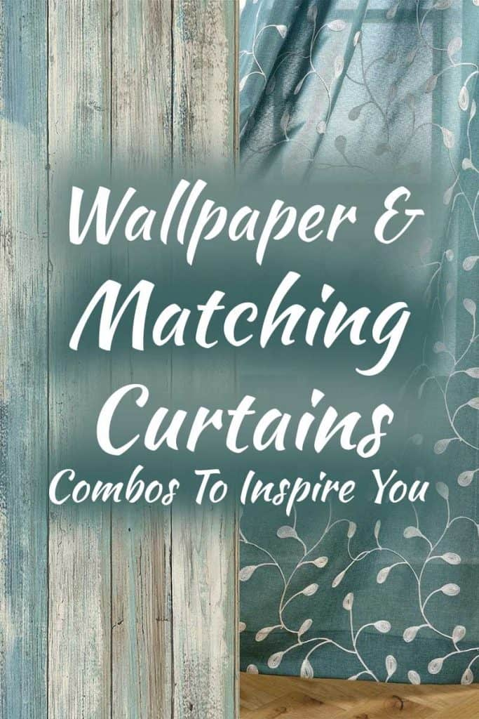 15 Matching Wallpapers And Curtains