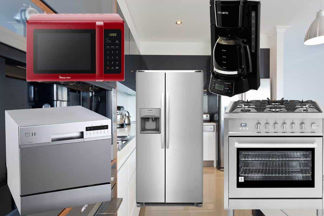 List Of Basic Kitchen Appliances Inc Examples