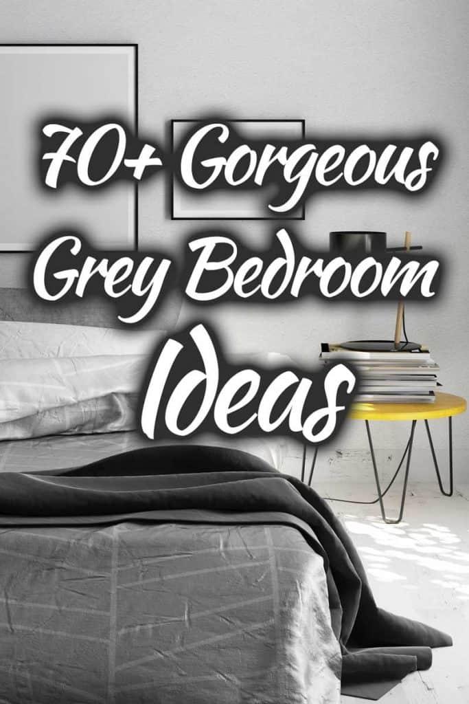 70 gorgeous grey bedroom ideas that