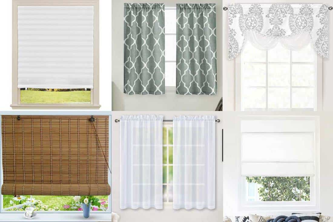 10 types of kitchen curtains you should