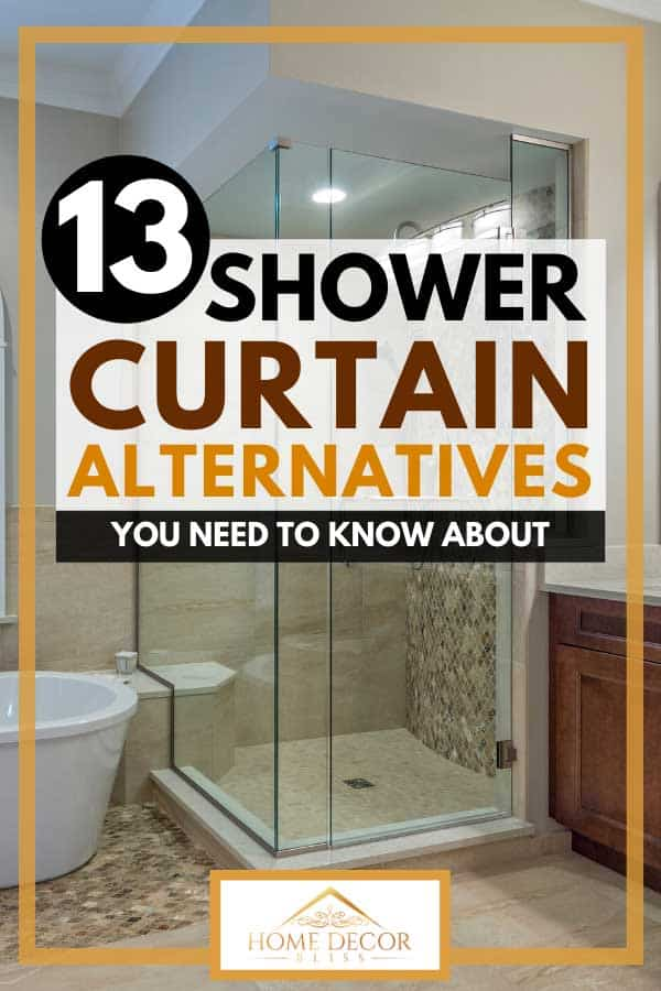 13 shower curtain alternatives you need