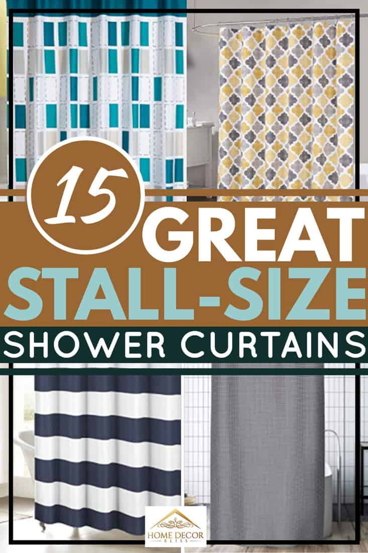 15 great stall size shower curtains