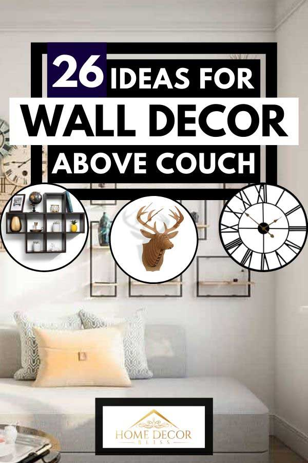 26 ideas for wall decor above couch
