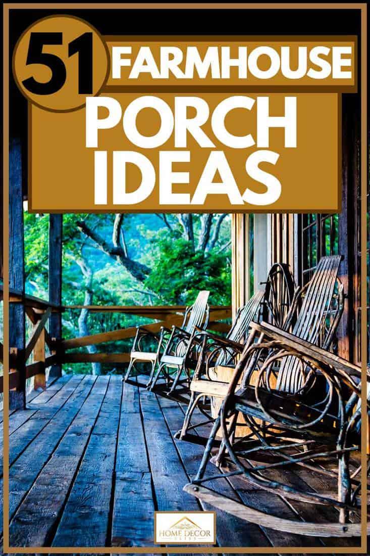 51 farmhouse porch ideas home decor bliss