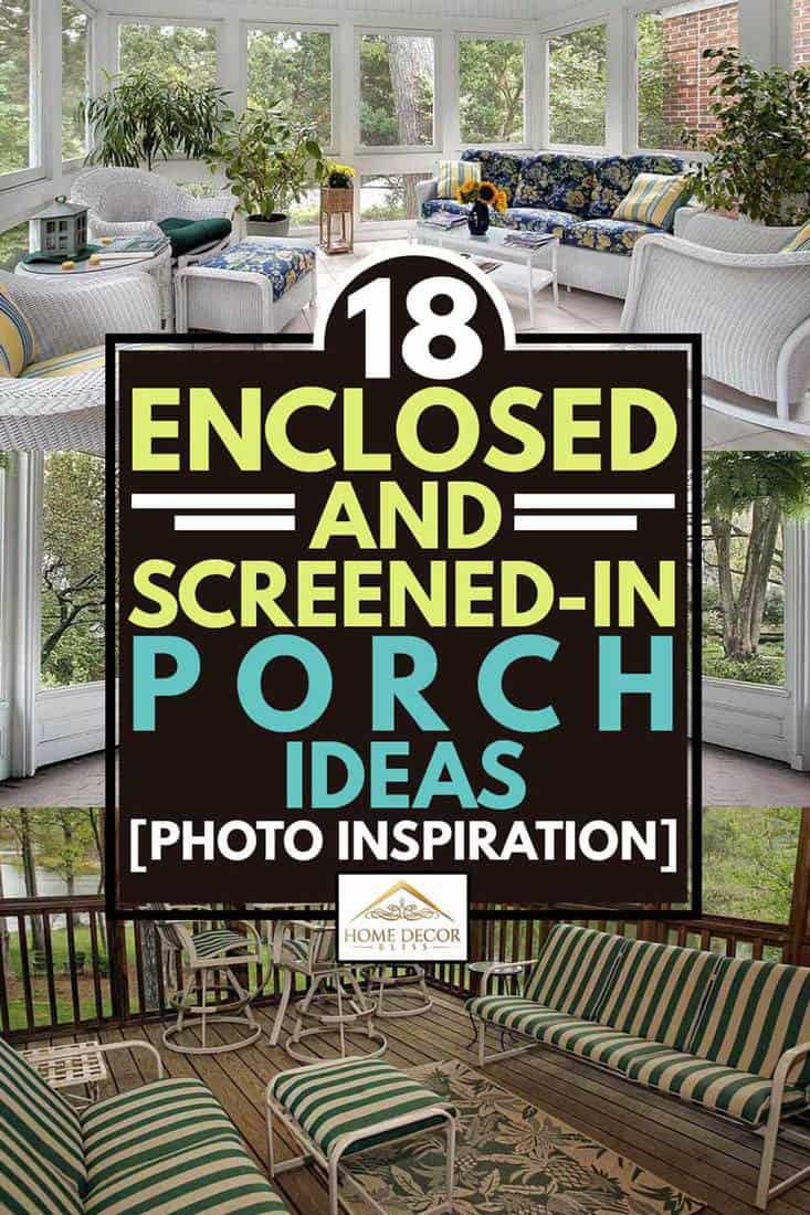 18 enclosed and screened in porch ideas