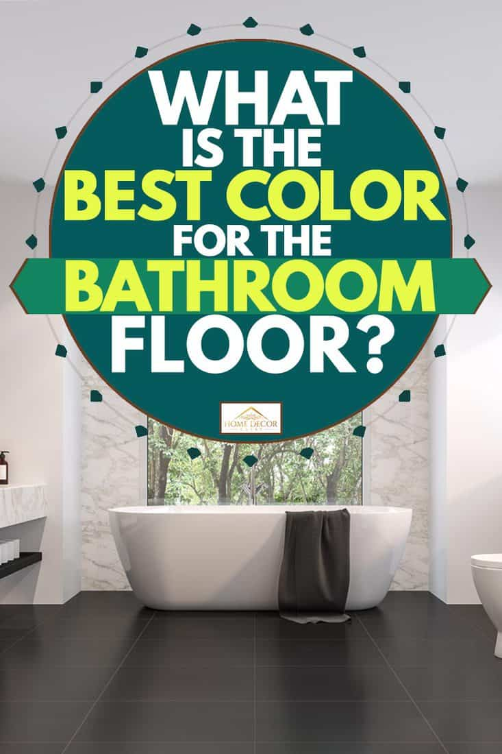 best color for the bathroom floor