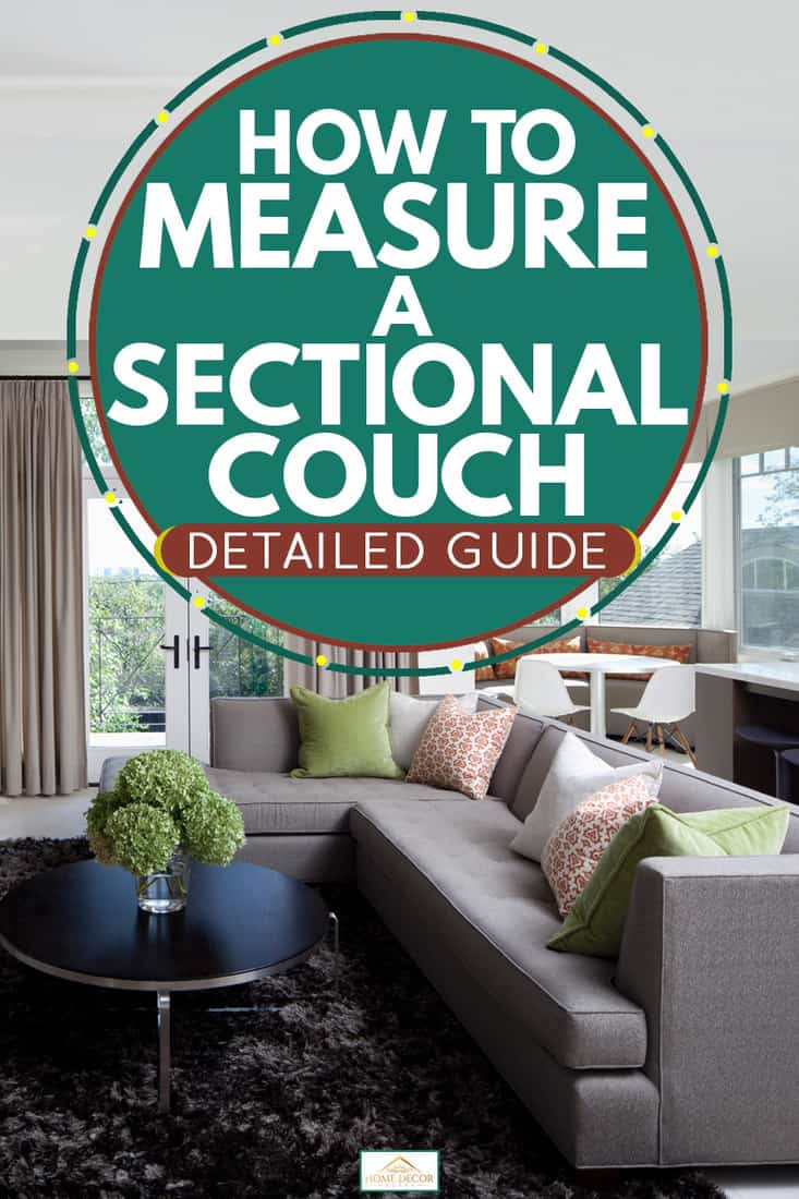 how to measure a sectional couch