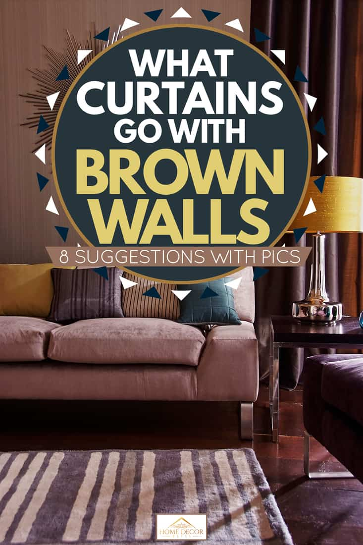 what curtains go with brown walls 8