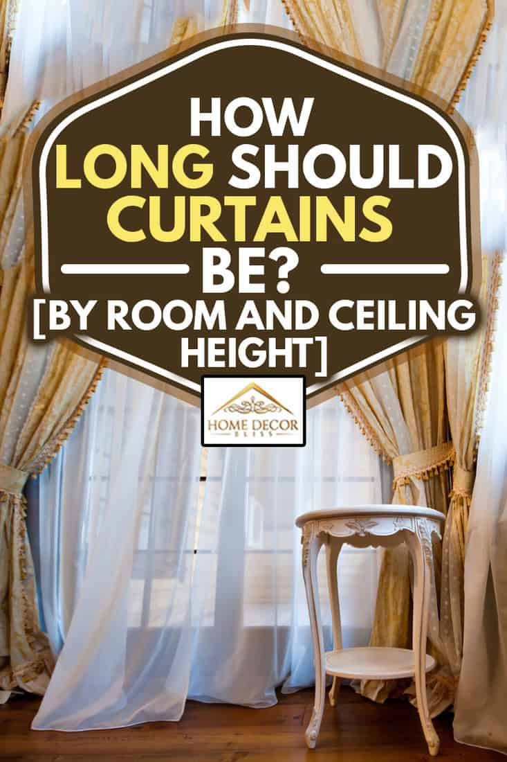 how long should curtains be by room