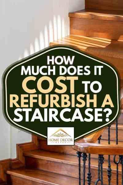Ferforje korkuluklu klasik vintage zarif ahşap merdiven, Merdiveni Yenilemenin Maliyeti Nedir?