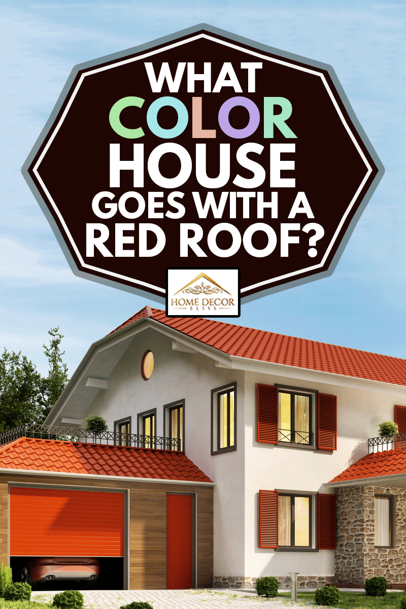 what color house goes with a red roof home decor bliss on country farmhouse exterior paint colors 2021 id=79799