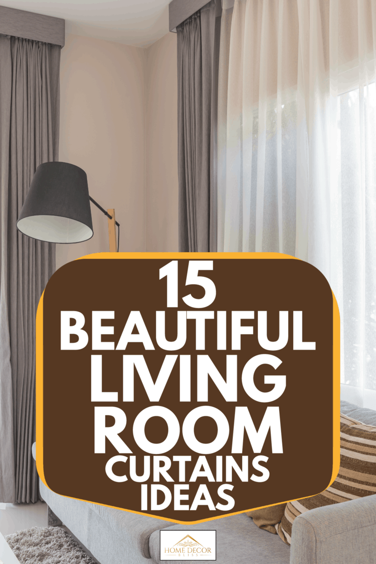 15 fantastic living room curtains ideas